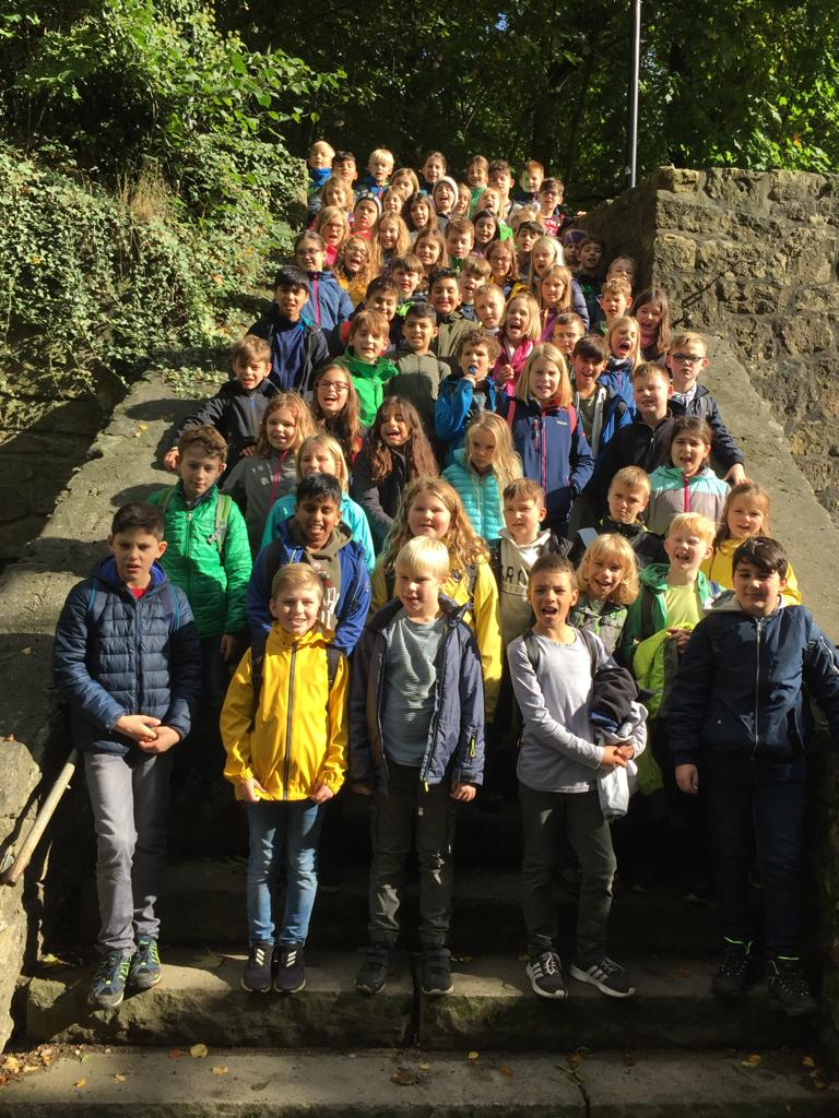 Klassenfahrt der Viertklässler nach Tecklenburg