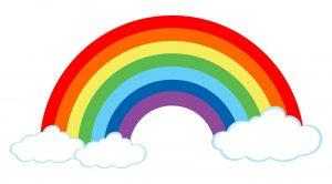 """Mitmachaktion """"Regenbogenbild"""""""