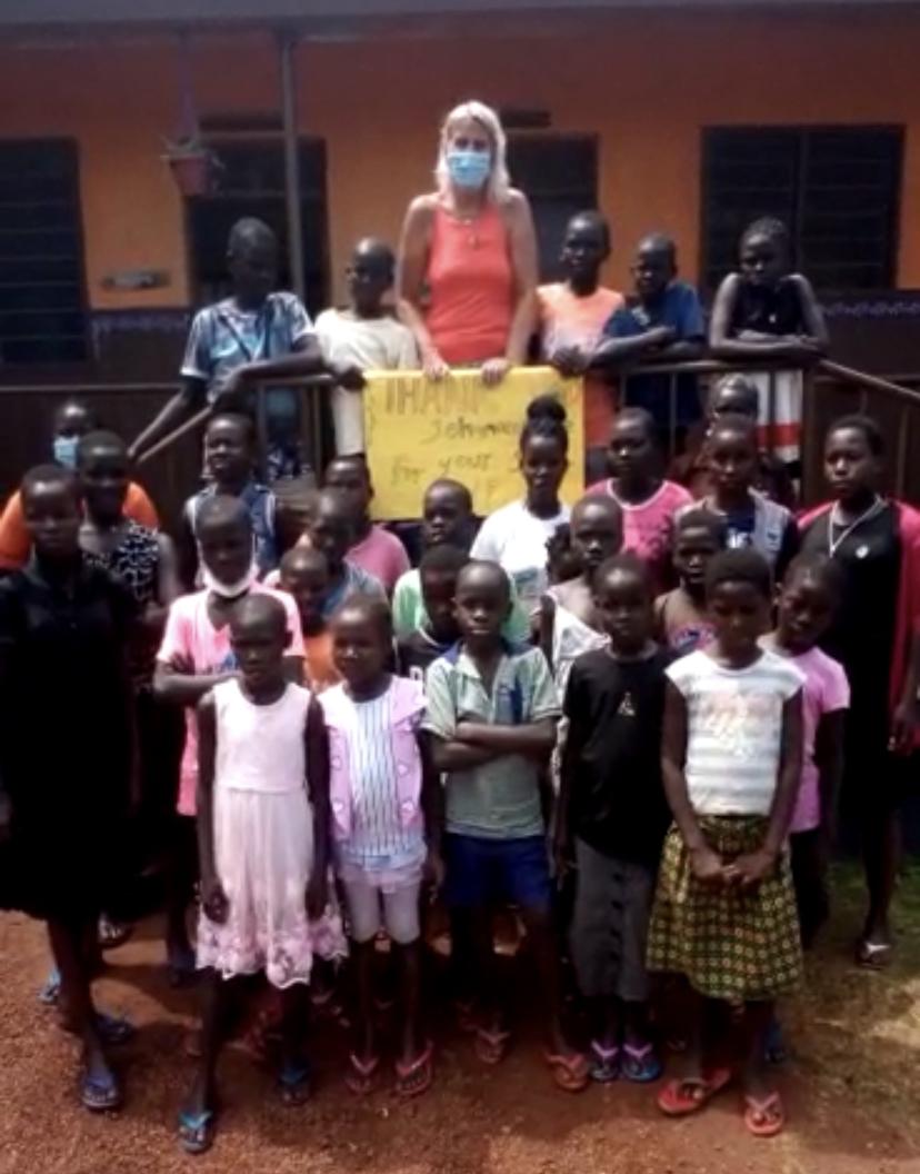 Ein Dankeschön aus Uganda